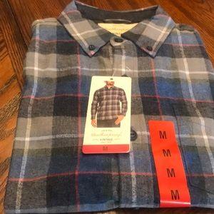 NWT Weatherproof Vintage Men's Flannel Shirts.